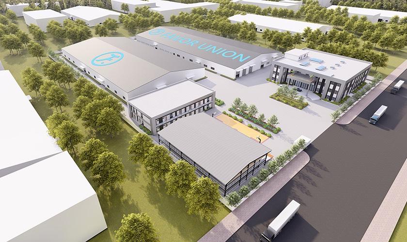 Bách Chiến thi công hoàn thiện và cung cấp vật tư dự án  FAVOR UNION VINA tại khu công nghiệp Châu Sơn Hà Nam