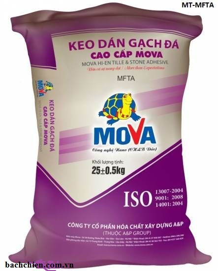 Keo dán gạch & đá cao cấp Mova MT-MFTA