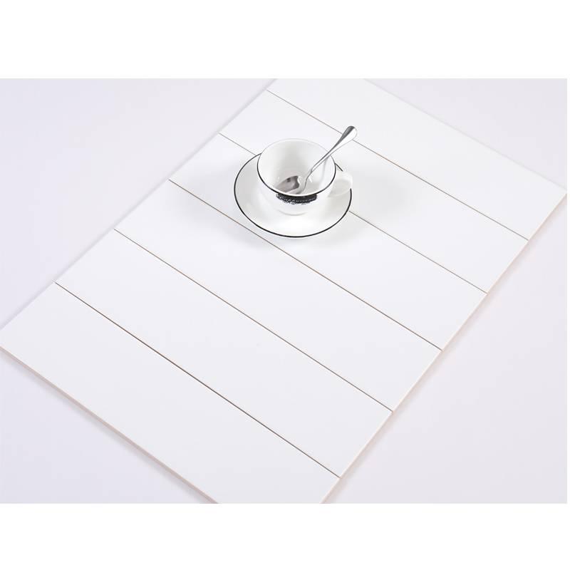 Gạch thẻ màu trắng mờ phẳng 100*400mm BC-M1400Y
