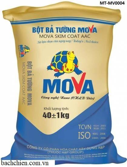 Bột bả tường gạch nhẹ AAC-Mova Skimcoat AAC MT-MV0004