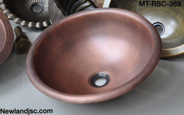 Chậu rửa bằng đồng-MT-RSC-319