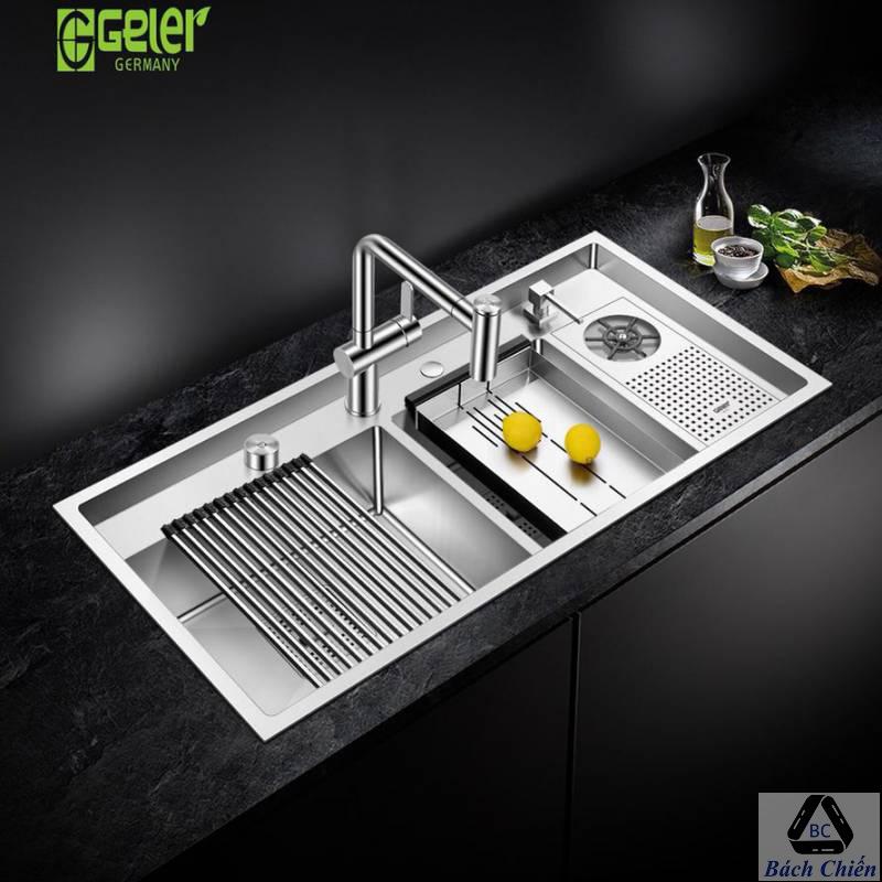 Chậu rửa bát Geler GL-10050 có máy rửa chén cốc