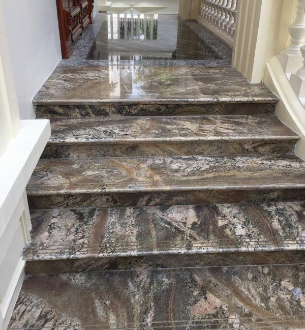 Đá cẩm thạch Marble ốp lát bậc tam cấp đẹp