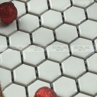 Gạch Mosaic lục giác MSG250413