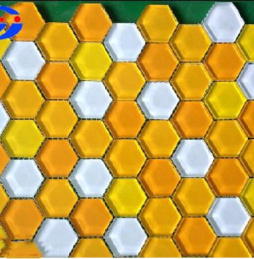 Gạch Mosaic lục giác MSG250418