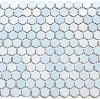 Gạch Mosaic lục giác MSG250431
