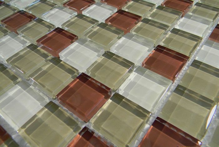 Gach ốp lát Mosaic thủy tinh MT-MST350