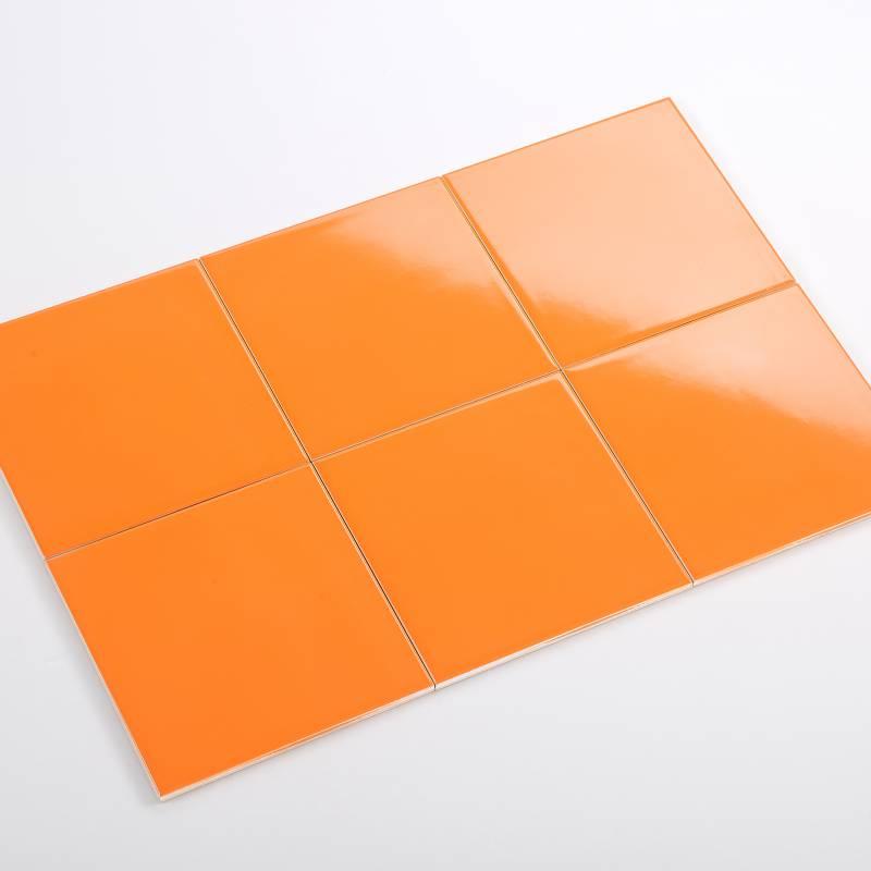 Gạch thẻ cam bóng phẳng 150*150mm BC-M151509