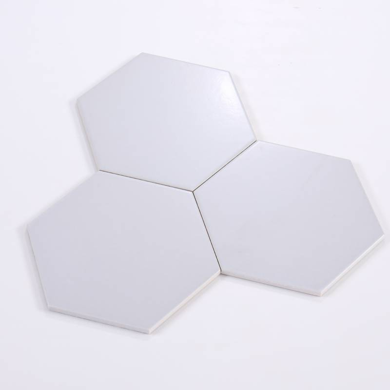 Gạch thẻ lục giác xám nhạt 200*230*115mm M23202-A