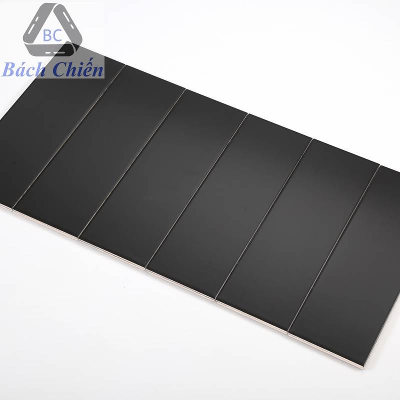 Gạch thẻ màu đen mờ phẳng 100*300mm BC-M1307Y