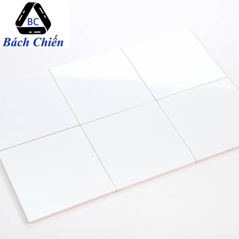 Gạch thẻ trắng bóng phẳng 200*200mm BC-M2200