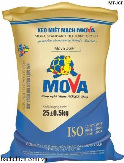 Keo miết mạch (keo chà ron) mịn Mova MT-JGF