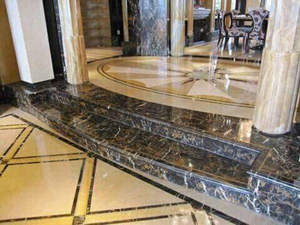 Mẫu đá Marble ốp lát bậc tam cấp đẹp