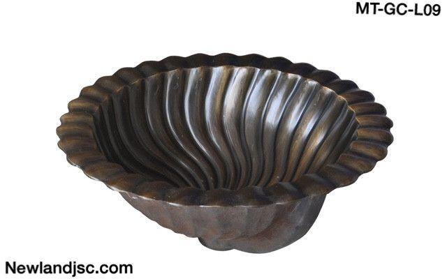 Lavabo bằng đồng-MT-GC-L09