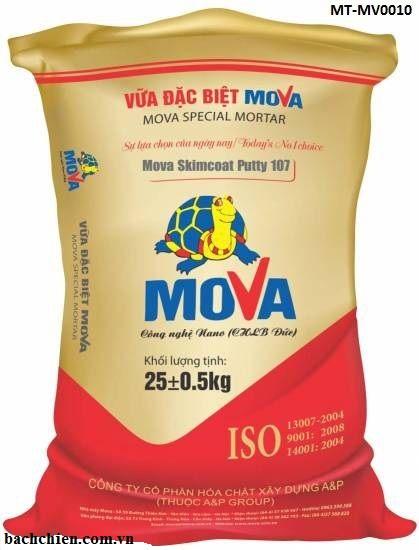 Vữa bả sửa chữa, trang trí Mova Skimcoat Putty 107 MT-MV0010