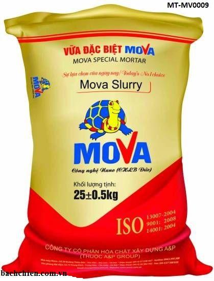 Vữa khô trộn sẵn 3 in 1 trát, chống thấm và làm khô Mova Slurry MT-MV0009