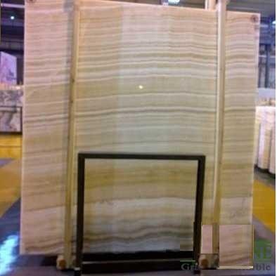 Đá Slap khổ lớn Wood Grain Onyx